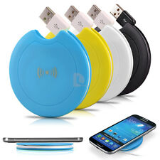 QI Wireless Charger Charging Pad Mat for Nexus Galaxy Samsung LG HTC iPhone NEW