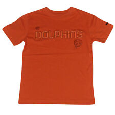 NFL Miami Dolphins Reebok Boot Camp Sideline Tee Youth Tshirt DK3116 Orange