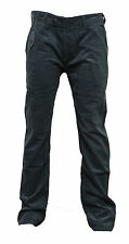 Mens Duck and Cover Conolley Blue/Green Corduroy Trousers Pants