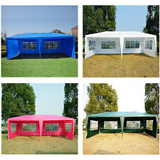 Outsunny 20ftx10ft Party Tent Gazebo Wedding Canopy Camping w/ Removable Walls