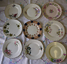 Vintage English China Tea Plates For Wedding and Tea Party's