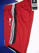 "ADIDAS FiVe SHORTS MEN BASKETBALL NEW GENUINE RED SIZE M  10"" INSEAM 23"" LONG"