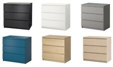 IKEA MALM 3 Drawer Chest ***DIFFERENT COLORS***