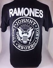 BLK RAMONES TOMMY JOHNNY DEE DEE JOEY  PUNK HARDCORE GOTHIC MEN'S T-SHIRT