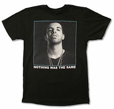 """DRAKE """"BINARY"""" BLACK T-SHIRT NEW OFFICIAL ADULT NOTHING WAS THE SAME RAP"""