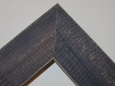 """1.5"""" Country Navy Blue Rustic Distress Weathered Picture Frame-Panoramic"""