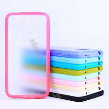 Shockproof TPU Frame Frosty Plastic Back Case Cover Fit For Various Mobile Phone
