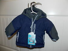 The Children's Place ThermoLite Plus All Weather Jacket BLUE/GRAY Choose Size