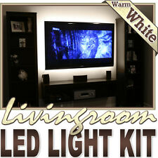 Warm White Sofa Couch Light LED Backlight Accent Night On/Off Switch Control Kit
