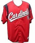 MLB St Louis Cardinals Baseball Jersey Stitched Lettering