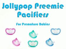 JollyPop Pacifier Preemie Pick Color &/or Scent Baby Soothie Gumdrop Dummy