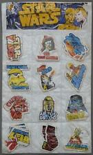 Star Wars A New Hope Vintage 1977 UK Sticker Retro Bootleg Fascal Take Your Pick