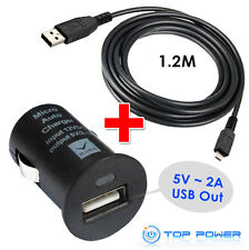 FIT fits Philips GoGear MP3 Player Opus DC Auto Car USB Adapter Charger Supply