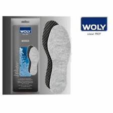 "Woly ""Worker"" Extra Thick Insole for Extreme Use. for Hiking, Work Shoes & Boots"