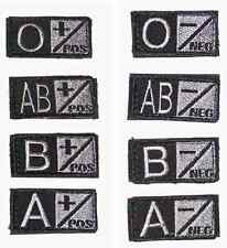 Condor 229 BLACK/FOLIAGE Blood Type Patch in A B AB O Positive + Negative -