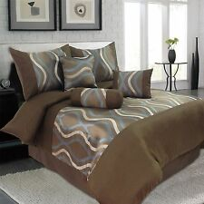 King and Queen Comforter Sets - 7 Different Pieces