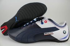 PUMA FUTURE CAT M1 BIG BMW CARBON FIBER BLUE/WHITE/RED/BLACK RACING US MEN SIZES