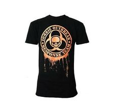 Darkside Clothing Zombie Outbreak Response Team Orange Horror Black Tshirt