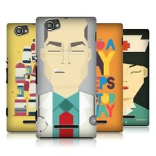 HEAD CASE PROFESSION INSPIRED MEDICAL BACK COVER FOR SONY XPERIA M C1905 C1904