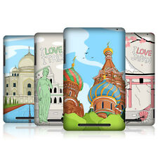 HEAD CASE DOODLE CITIES SERIES 3 SNAP-ON BACK COVER FOR ASUS GOOGLE NEXUS 7