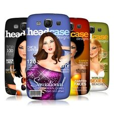 HEAD CASE MAGAZINE COVERS SNAP-ON BACK COVER FOR SAMSUNG GALAXY S3 III I9300