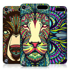 HEAD CASE AZTEC ANIMAL FACES SNAP-ON BACK COVER FOR APPLE iPOD TOUCH 5G 5TH GEN