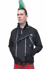 Tiger of London Black Punk Zip Jacket by Tiger of London
