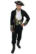 Full set: Costume Mens Men's costume Baroque Pirate Aristocrat fine Lord L012