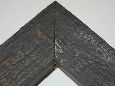 """1.5"""" Rustique Dark Gray Rustic Distress Weathered Canvas Picture Frame-Panoramic"""