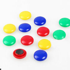 10pcs Colorful Magnet Button Whiteboard Pin Memo Magnetic Fridge Note Message
