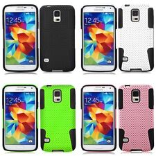 Brand New Cross Cover For Samsung Galaxy S5 PC Hard Back Case Interior Soft