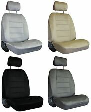 for 2012-2013 TOYOTA PRIUS V 2 Quilted Velour Encore Solid Colors Seat Covers