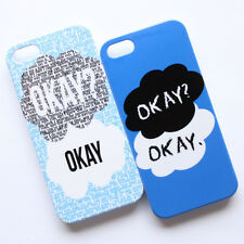 The Fault in Our Stars OKAY Pattern Hard Back Case Cover For Apple iPhone 5 5S