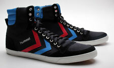 Hummel Schuhe Slimmer Stadil High Canvas 63-111-2639 Black/Blue/Red/Gum KH