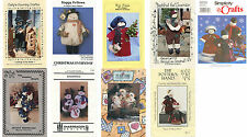 Snowman Snowmen Craft Sewing Patterns ~ Dolls ~ Decor ~ Christmas ~ Winter