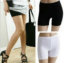 Women Lady Fashion Pants Safety Shorts Leggings Yoga Seamless Basic Plain Tights