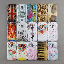New PC Skin Back Case Cover Protective f. Samsung Galaxy Trend Duos S7562 S7560