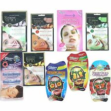 Montagne Jeunesse Face Masks Renew You Revive Hydrating Exfoliating Heat Fruit