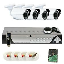 8 Channel 960H DVR Surveillance Security Camera System w/ Mutil Cameras and 1TB