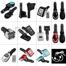 Bluetooth/LCD/ Car MP3 Music Player FM Transmitter Modulator USB/SD/MMC