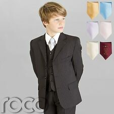 Boys Black Suit, Prom Suits, Boys Wedding Suits, Page Boy Suits, Pinstripe Suit