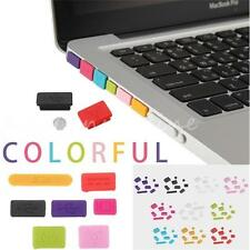 Anti-dust Silicone Port Plugs Rubber Cover Set for Retina Macbook Pro 11 13 15