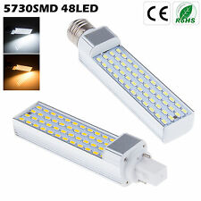 Brillante E27 G24 5730 SMD 48 LED Light Bulb Downlight Spotlight Lamp Bombillas