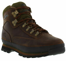 Timberland Euro Hiker Mens Classic Leather Lace-up Boots Sizes UK 7 - 14.5