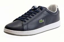 Lacoste Men's Carnaby EVO CRT SPM Dark Blue Sneaker Shoes
