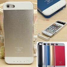 3500mAh External Battery Power Bank Backup Charger Case Cover For iPhone 5 5s