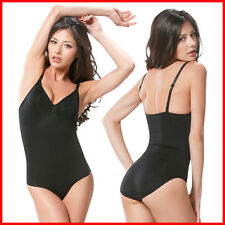 Women Firm Tummy Control Full Body Shaper Shapewear Bodysuit Leotard Slim Girdle