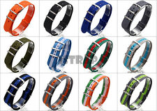 Premium Military watch band Nylon strap Bonded For SEIKO Watches 18mm 20mm 22mm