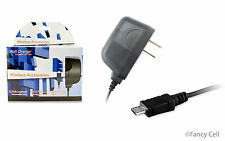 Universal Home Travel Micro USB Battery Wall Charger Adaptor For Cell Phones