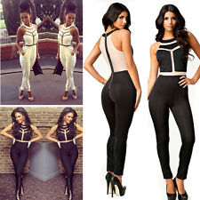 2014 Sexy Womens Outfits Bodycon Jumpsuit&Romper Trousers Clubwear Long pants